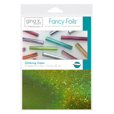 18063 Fancy Foils™ • GLITTERING GREEN