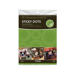 4051 Sticky Dots Adhesive  Small Sheets