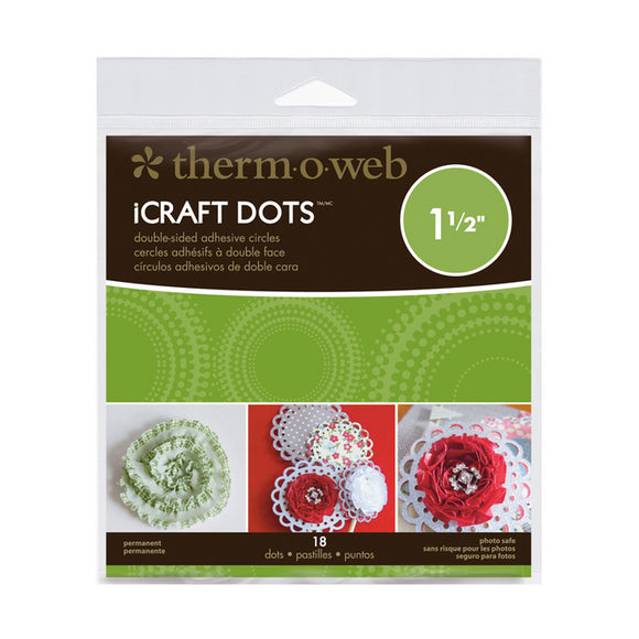 iCraft Adhesive™ Dots• 1.5 inches
