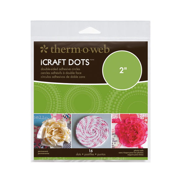 iCraft Adhesive™ Dots • 2 inches