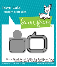 LF1702 Reveal Wheel Speech Bubble Add-On Lawn Cuts Dies