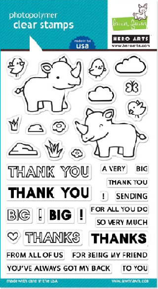 PR103 Big Thanks Stamp Set