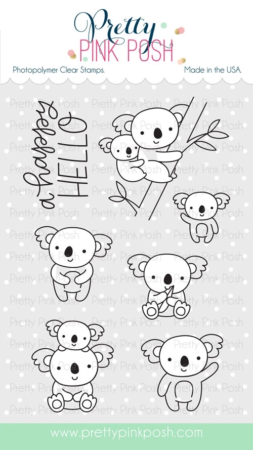 Koala Friends Stamp Set