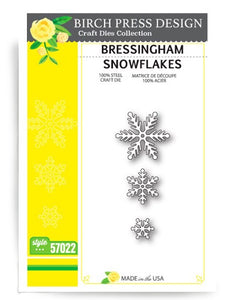 57022 Bressingham Snowflakes craft die
