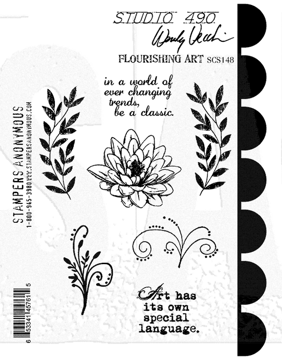 SCS148 Flourishing Art Sentiments