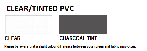 Clear & Tinted PVC Fabric