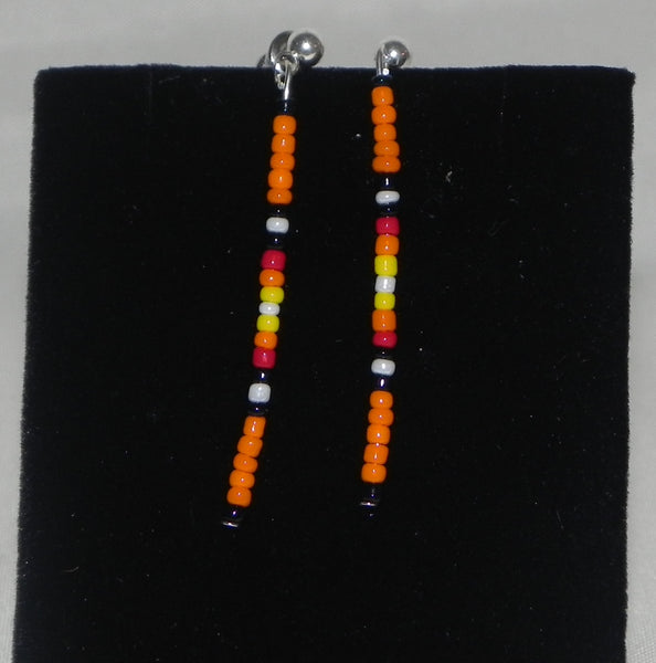 Single strand earrings
