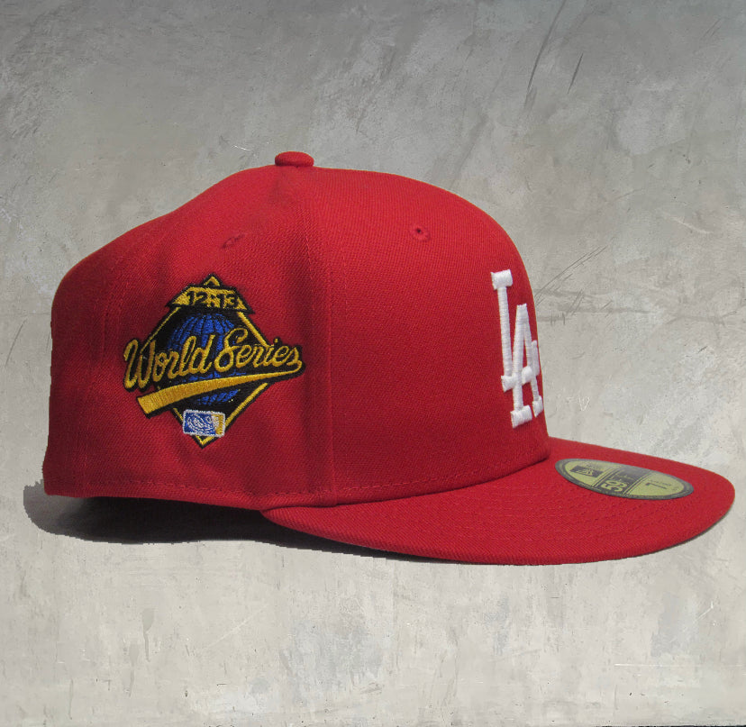12:13 Series Fitted Hat- Red