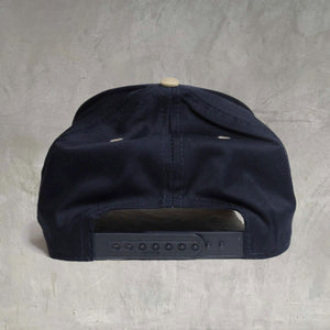 """Coverage"" Snapback - Navy / Khaki"