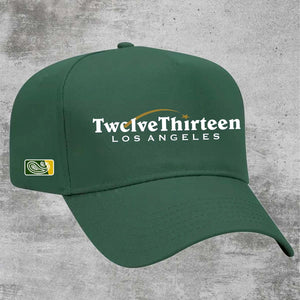"""Coverage"" Snapback - Green"