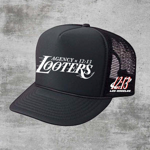 Looters Collab Trucker Hat - Black
