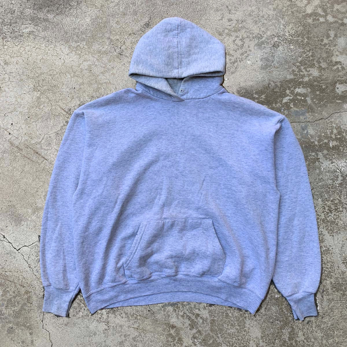 Vtg Fruit of the Loom Hoodie - Grey (M)