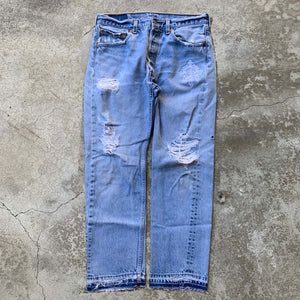 Repurposed Denim Jeans (33/28)