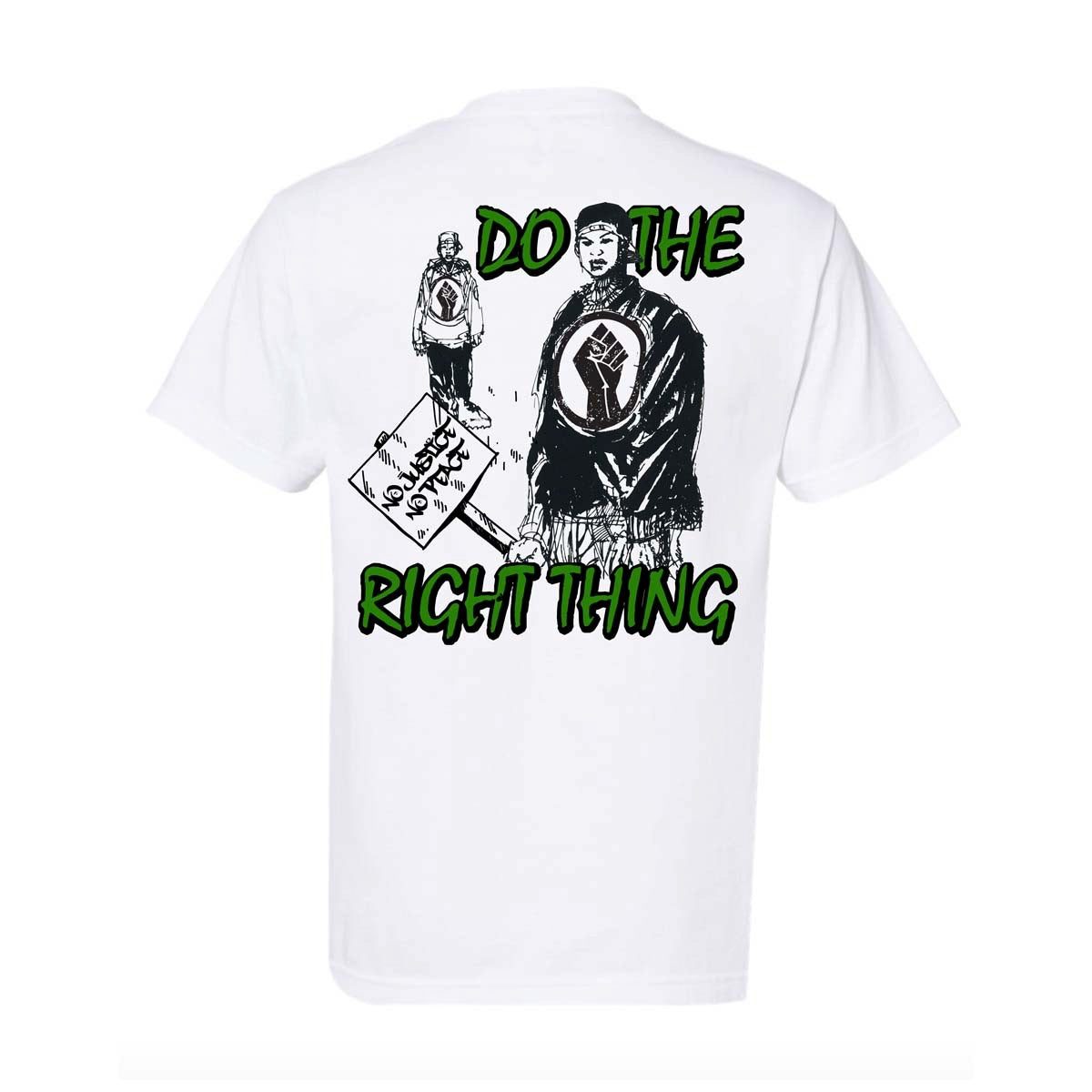 """Do The Right Thing"" Tee - White"