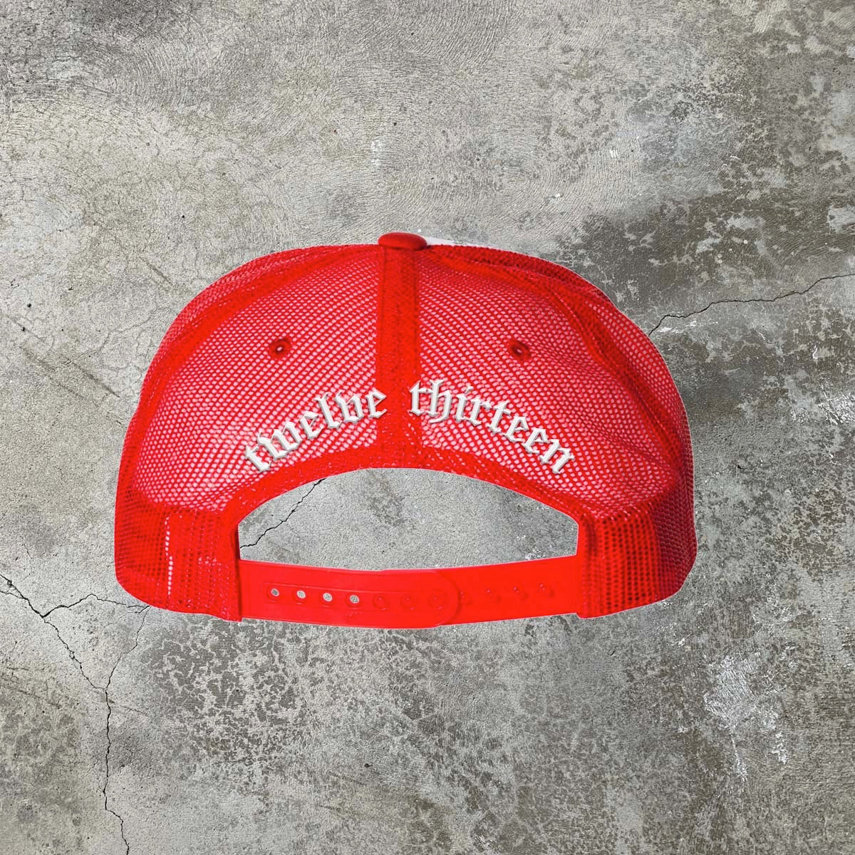 Baptize Trucker Hat - Red/White