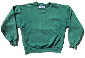 Aged Russell Athletic Crewneck - Green (S)