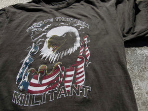"""Militant"" T-Shirt - Wet Cement"