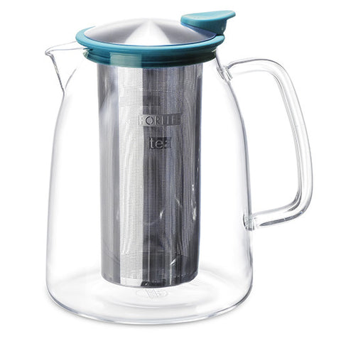 Mist Iced Tea Jug w/ Basket  Infuser 2 Qt. (68 oz.)  Colors