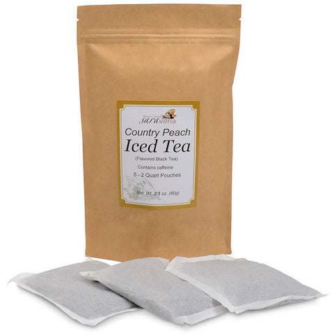 Country Peach Iced Tea (Loose Leaf or 2 Qt. Teabags)
