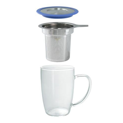 New Leaf Tall Tea Mug w/ Infuser (16 oz.)   More Colors