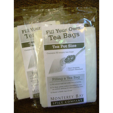 Tea BrewingFilters / Tea Pot Size / Pkg. of 50