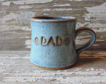 Handmade Pottery Mug - Dad