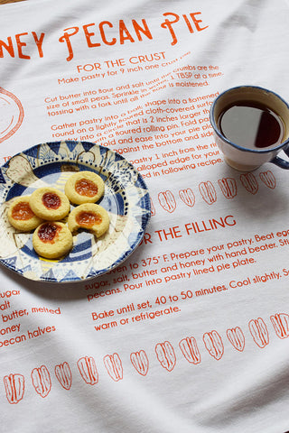 Tea Towel - Honey Pecan Pie