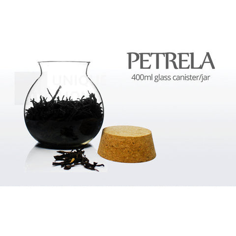 Petrela Glass Canisters 13.5 oz Set