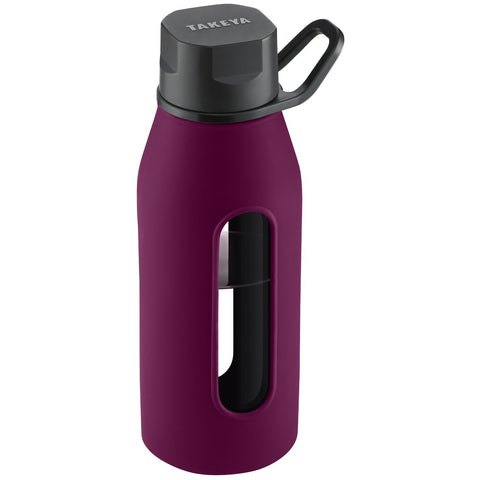 Glass Water Bottle 16oz.
