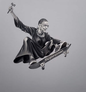 "Icon Series - Ruth ""Skater"" Ginsburg - LIMITED EDITION Prints"