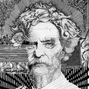Mark Twain LIMITED EDITION Prints