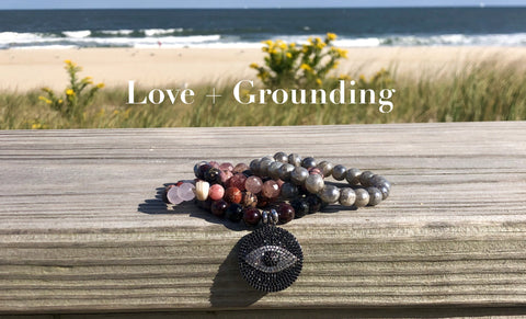 Love And Grounding Chakra Bracelets