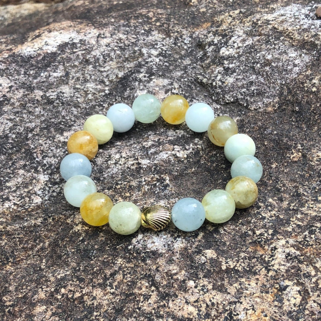 Four elements Gemstone bracelet