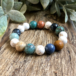 Four Elements Crystals Bracelet