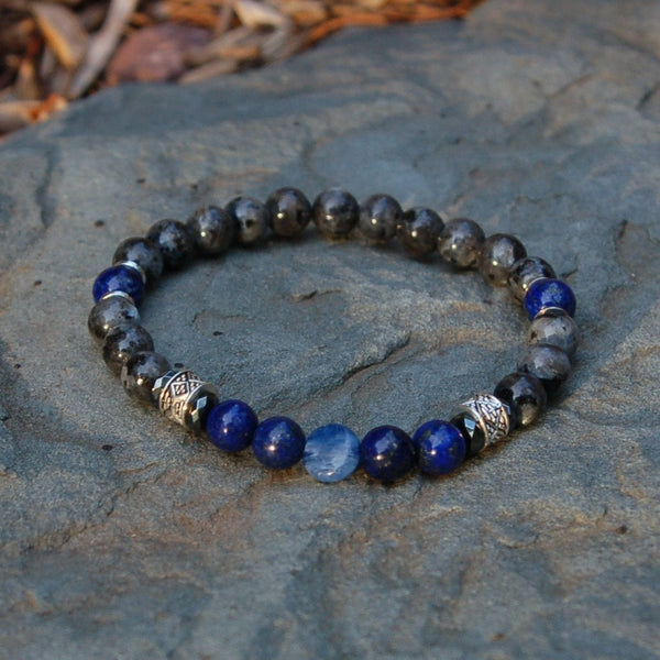 Men's Throat (Fifth) Chakra Bracelet