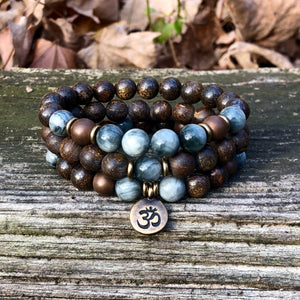 Root and Throat Chakra Bracelets