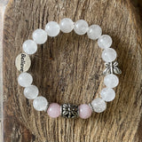 Moonstone and Rose Quartz fertility crystals (82844932)