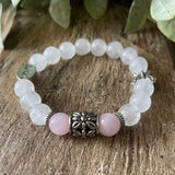 moonstone and rose quartz fertility bracelet (82844932)