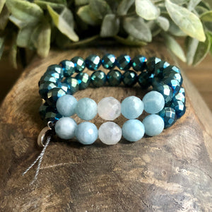 Full Moon Crystals Bracelet (5615931556003)
