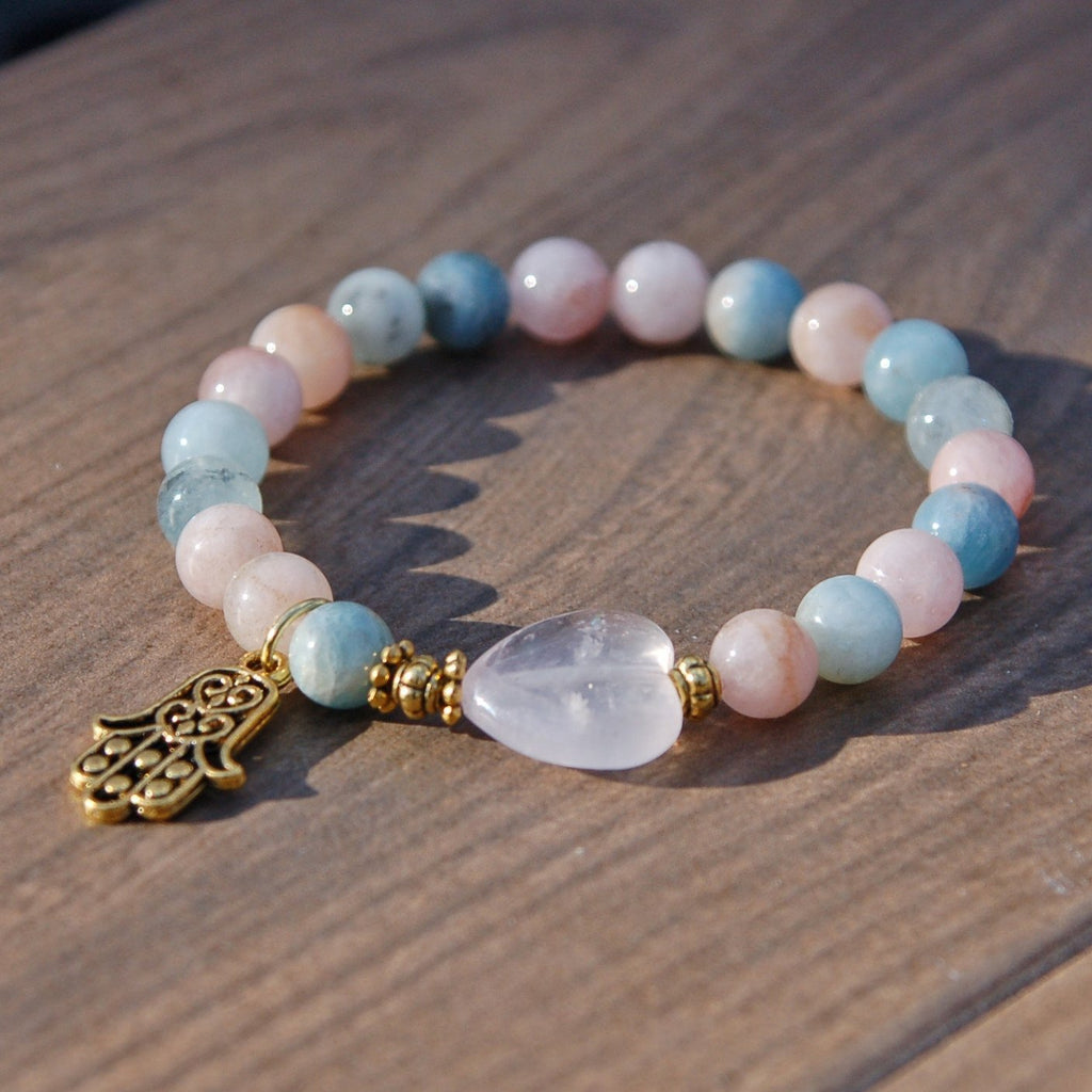 Attracting Love Gemstone Bracelet