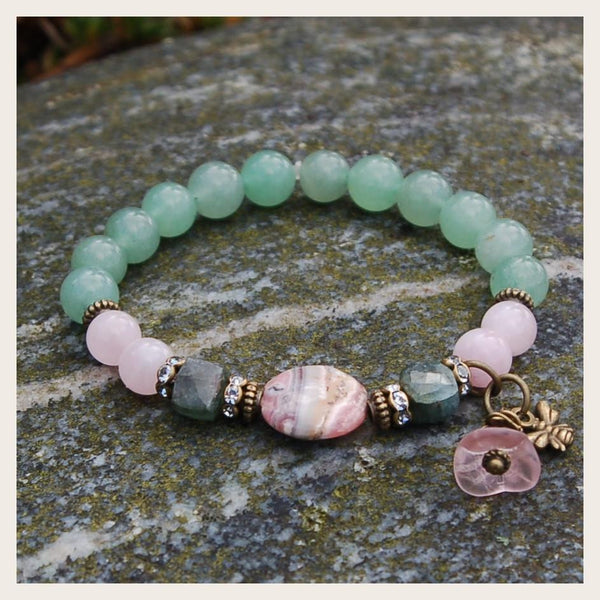 Bee Fertile Gemstone Healing Bracelet