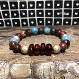 Baltic Amber Natural Crystal Bracelet