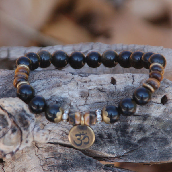 Black Obsidian Truth Bracelet