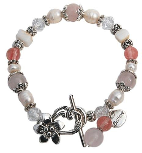 Blush Fertility Bracelet