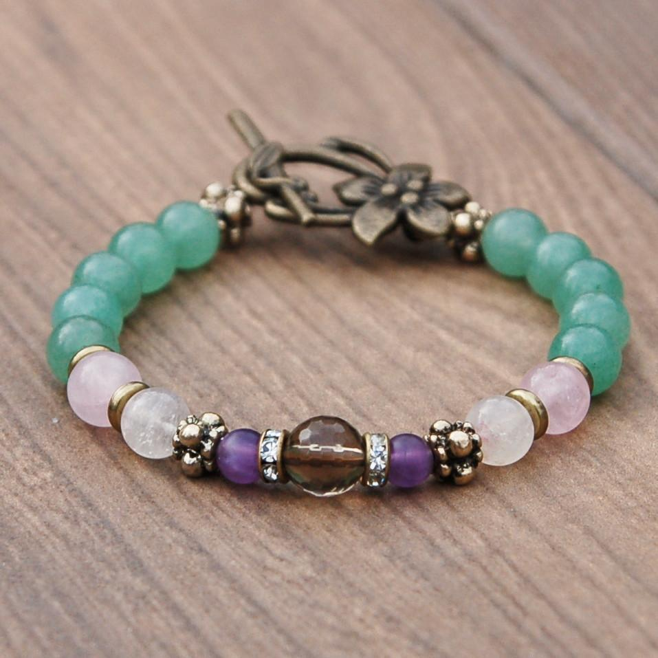 Fertile Mind Fertility Bracelet with Swarovski Crystals