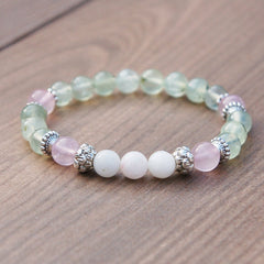Moonstone, Rose quartz for fertility