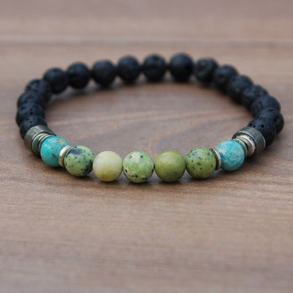 Men's Energy Affirmation Bracelet