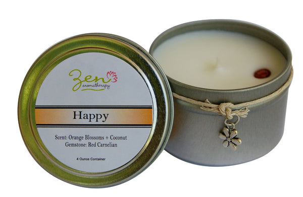 Happy Aromatherapy Candle