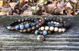 Root Chakra, Throat Chakra and Hematite Bracelets