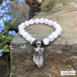Master Healer Crystal Point bracelet
